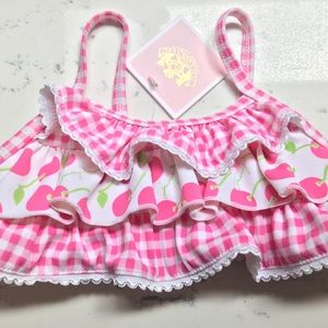 Juicy Couture swimsuit top 6-12 Months Baby